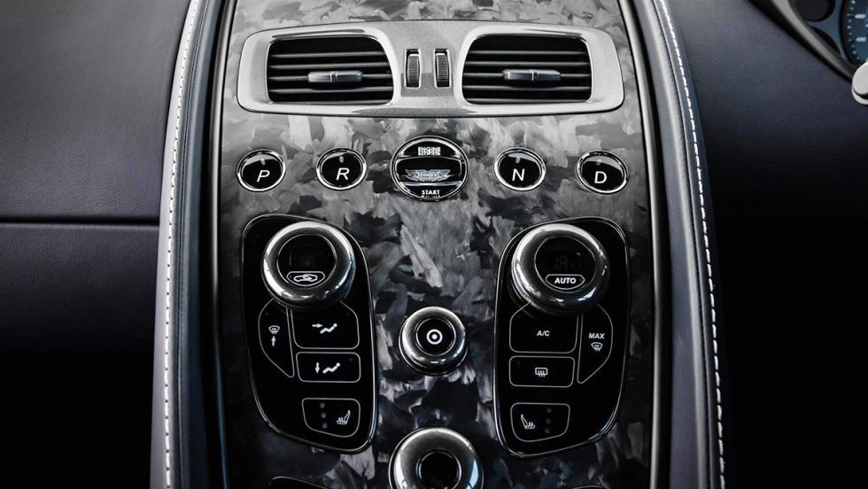 Detalles del Aston Martin Vanquish S