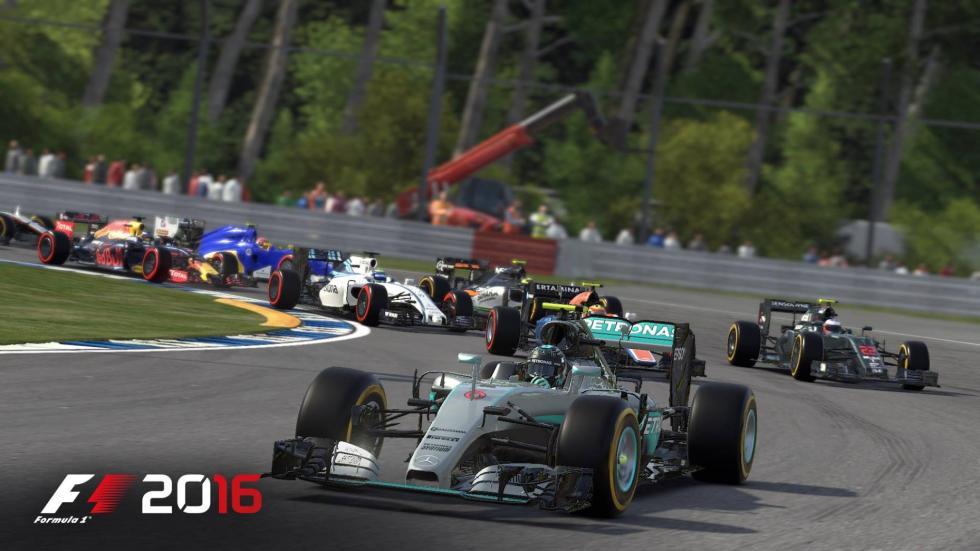 F1 2016 copió a la perfección la Fórmula Uno