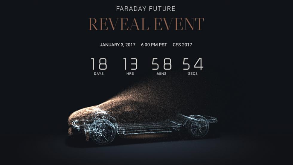 Faraday Future, web