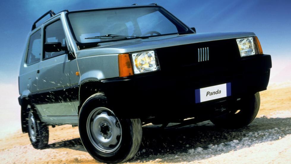 Fiat Panda 4x4 antiguo robustos todo terreno