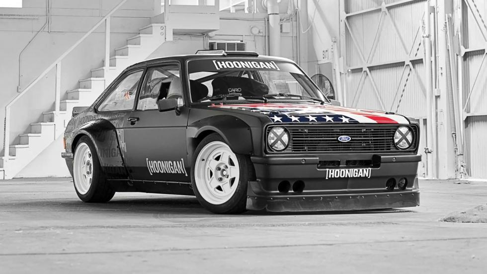 Ford Escort RS MKII Ken Block garaje coches