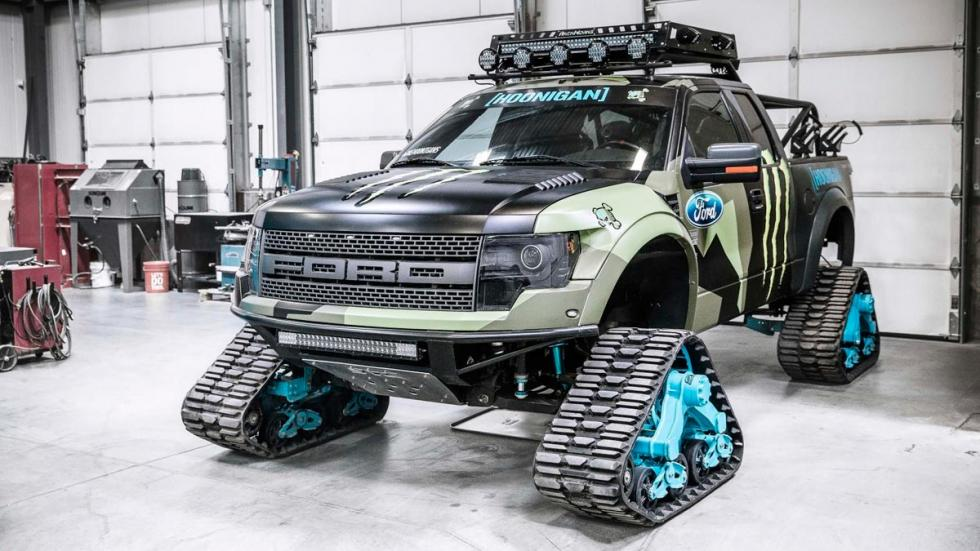 Ford F150 RaptorTraxx Ken Block garaje coches