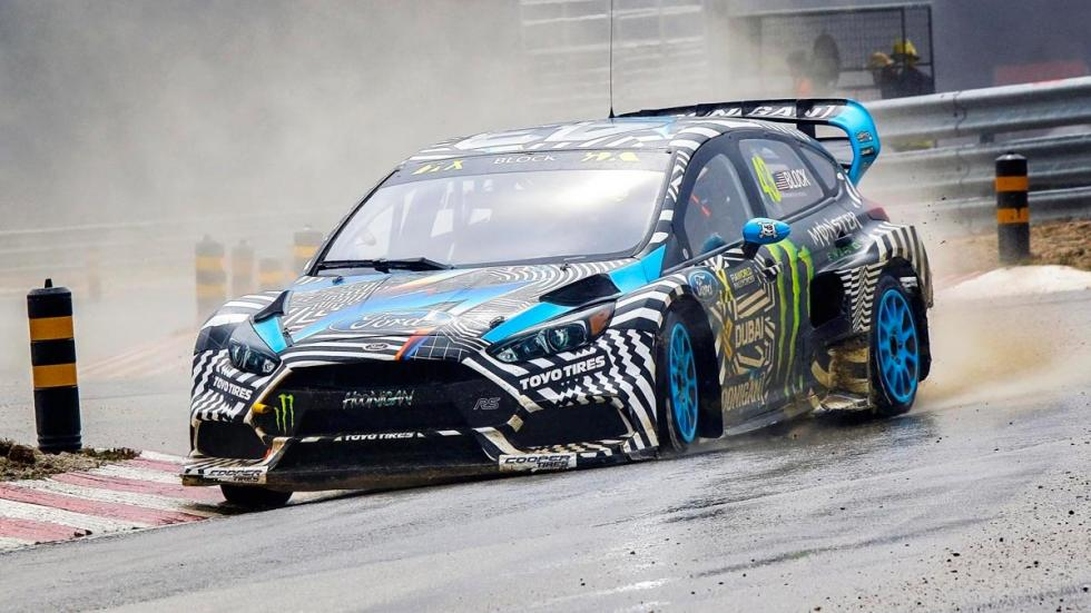 Ford Focus RS RX Ken Block garaje coches