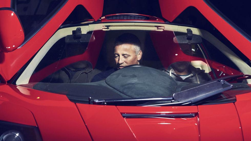 El garaje soñado de los presentadores de Top Gear - Matt LeBlanc
