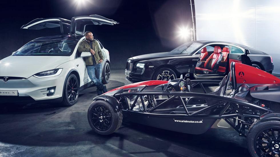 El garaje soñado de los presentadores de Top Gear - Rory Reid