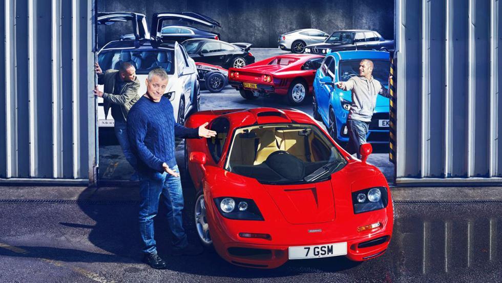El garaje soñado de los presentadores de Top Gear
