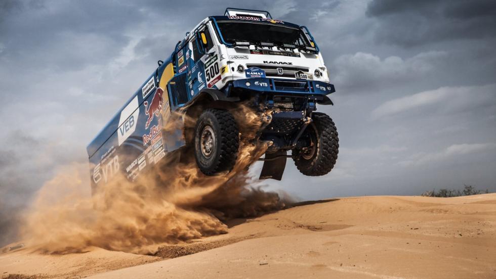 Los grandes campeones del Dakar