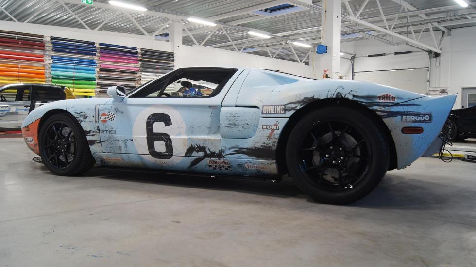 Homenaje Ford GT Gulf