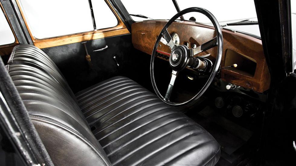Interior del Austin Princess del 56 de Lennon