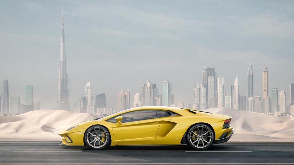 Lamborghini Aventador S deportivo superdeportivo altas prestaciones italia