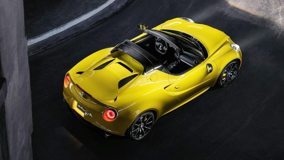 Los mejores coches para los más puristas - Alfa Romeo 4C