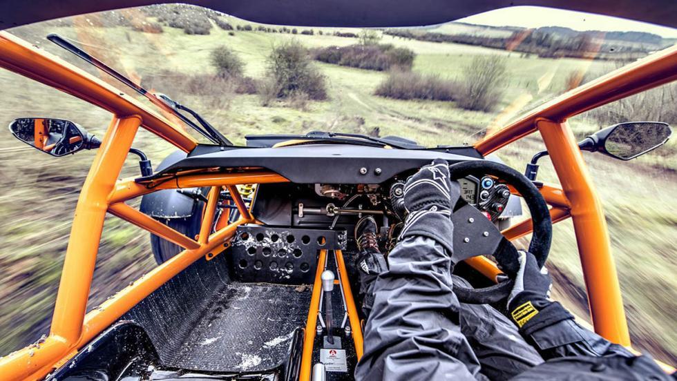 Los mejores coches para los más puristas - Ariel Nomad