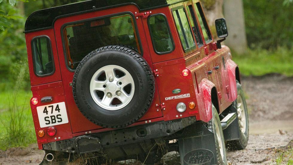 Los mejores coches para los más puristas - Land Rover Defender