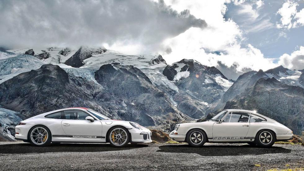 Los mejores coches para los más puristas - Porsche 911 R