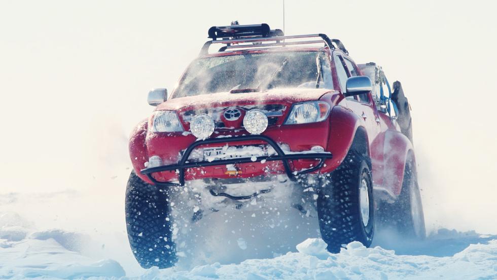 Los mejores coches para Papá Noel - Arctic Truck