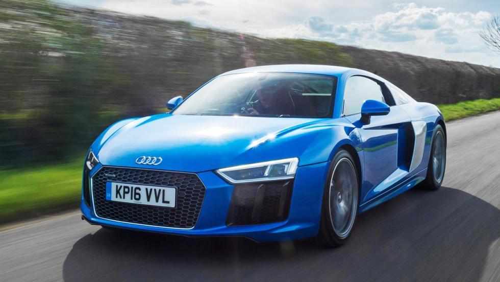 Los mejores coches que puedes comprar por menos de 300.000 euros - Puesto 4 - Audi R8