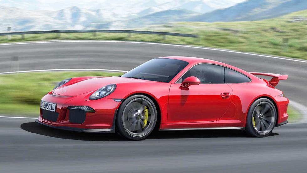 Los mejores coches que puedes comprar por menos de 300.000 euros - Puesto 7 - Porsche 911 GT3