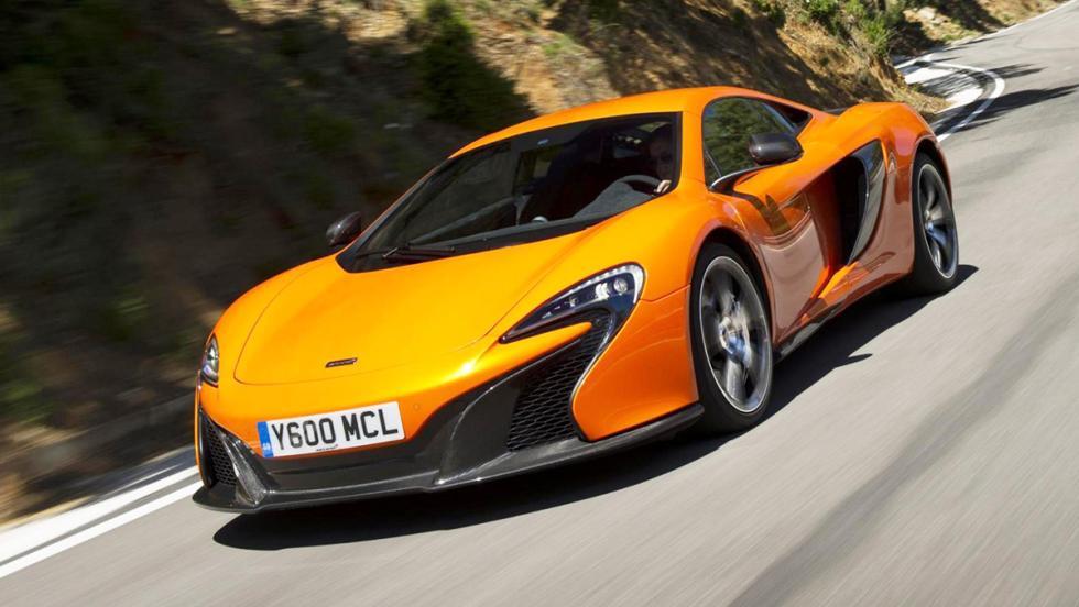 Los mejores coches que puedes comprar por menos de 300.000 euros - Puesto 9 - McLaren 650S