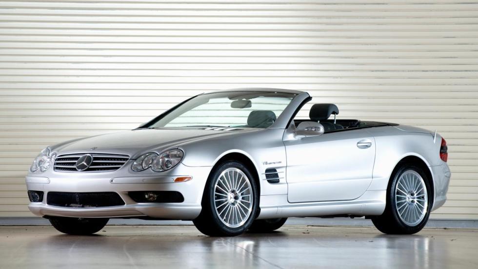 Mercedes SL55 AMG deportivo descapotable 55 lujo