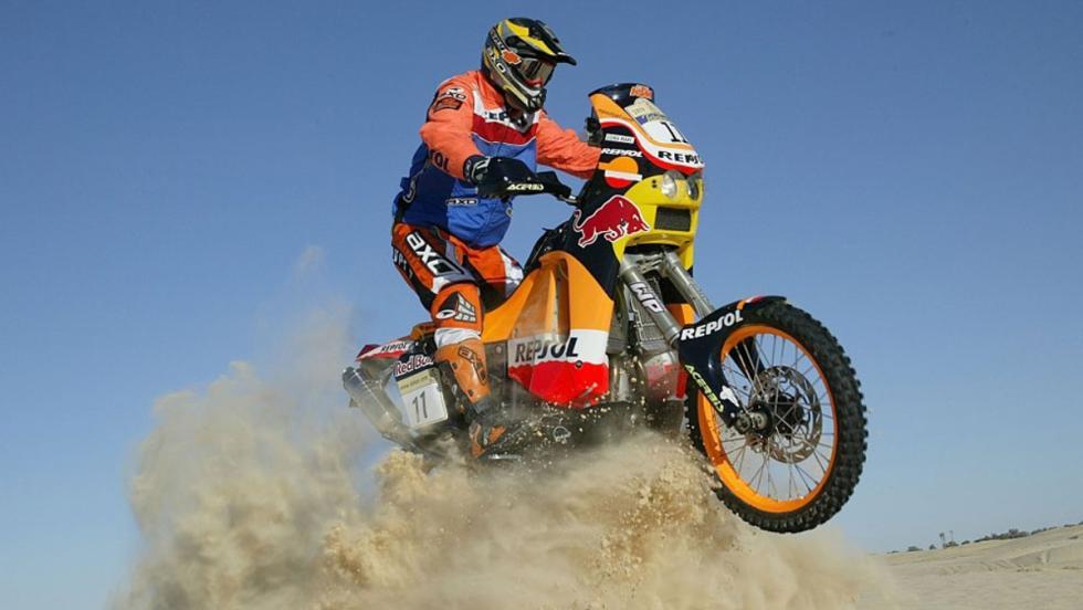 Nani Roma se adjudicó el Dakar en motos en 2004