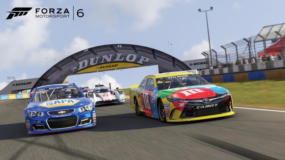 La NASCAR llegó a Forza Motorsport 6