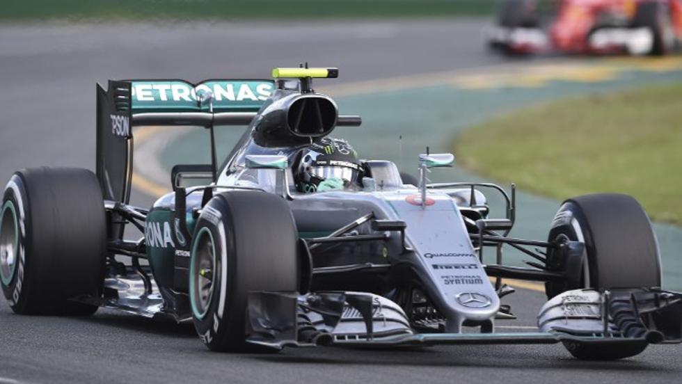 Nico arrancó fuerte en el certamen de 2016 ganando en el GP de Australia