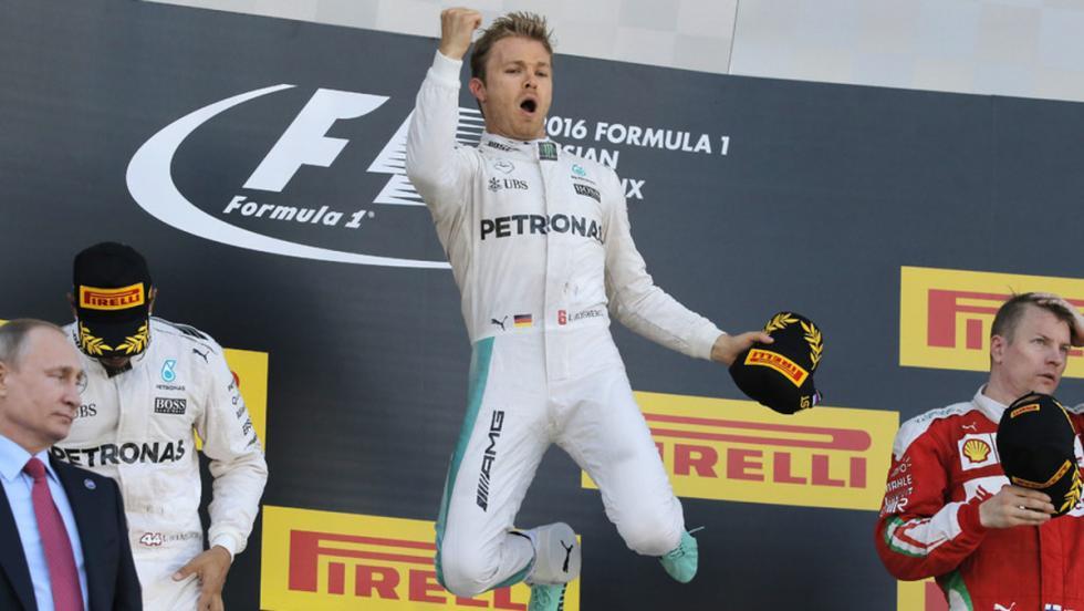 Nico encadenó en el GP de Rusia su cuarta victoria seguida en el arranque de 2016