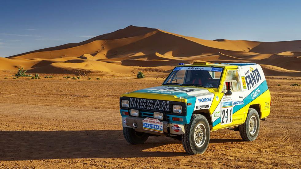 El Nissan Patrol ganador del Dakar de 1987 ha resucitado