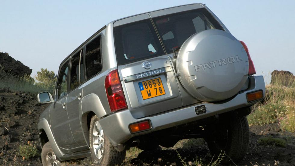 Nissan Patrol robustos todo terreno todoterrenos