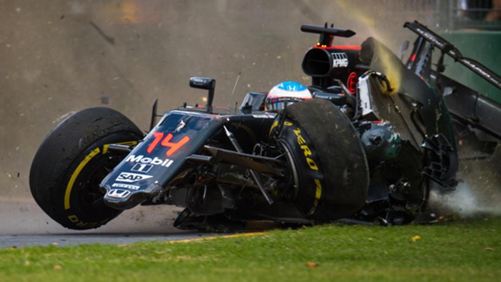 Los peores accidente de F1 en 2016