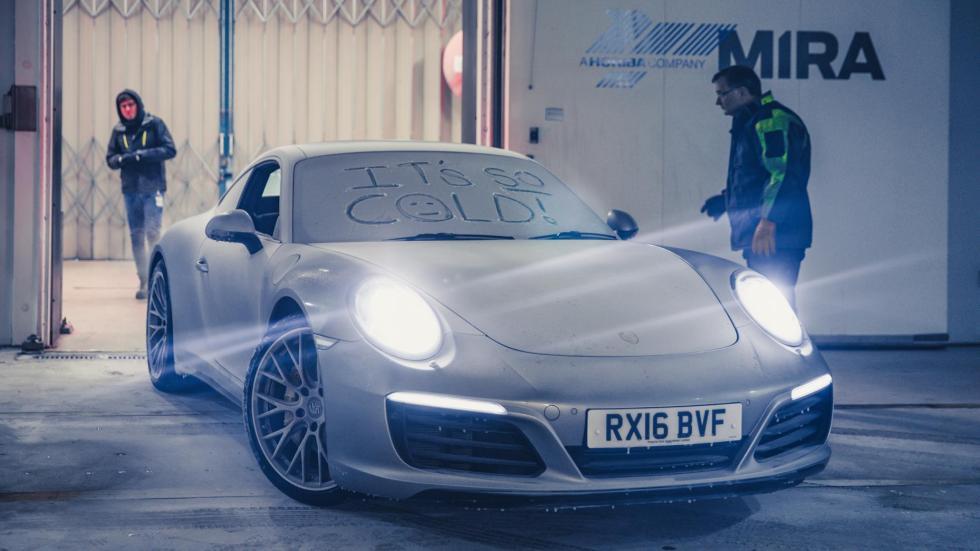 Porsche 911 congelado (VII)