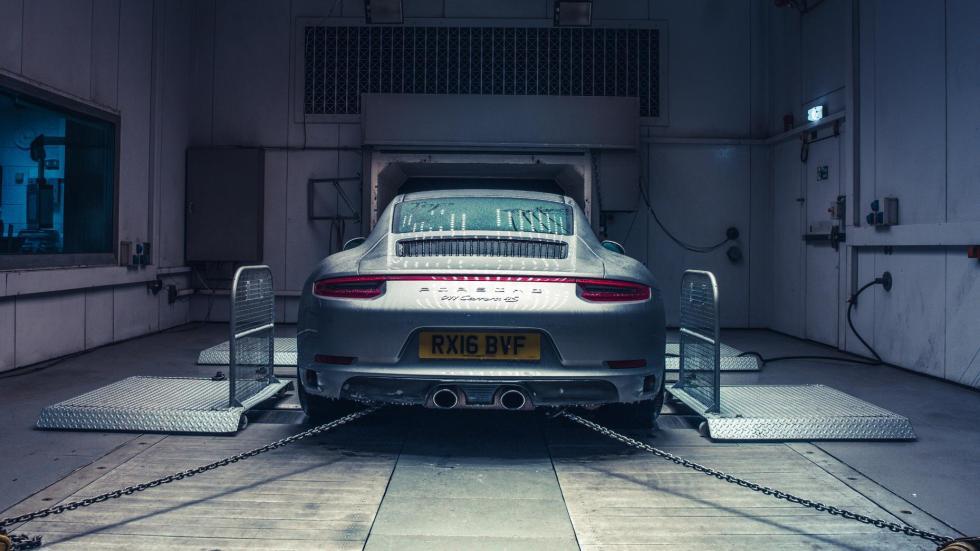 Porsche 911 congelado (X)