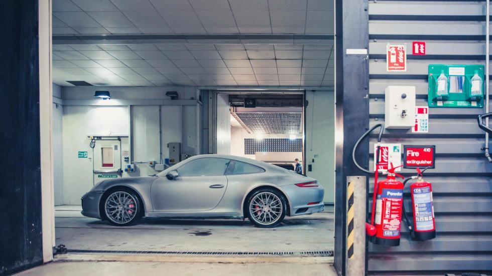 Porsche 911 congelado (XII)