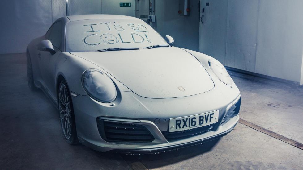 Porsche 911 congelado (XX)