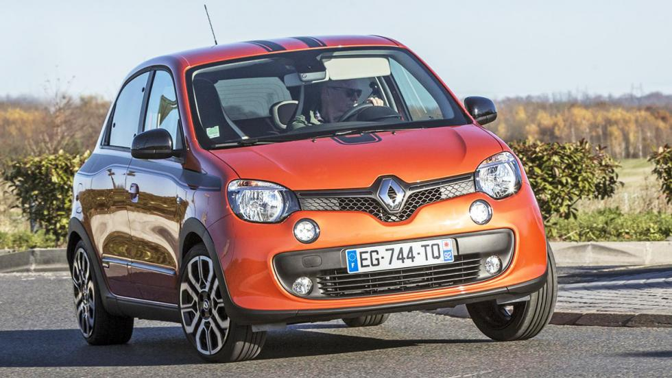 Frontal Renault Twingo GT