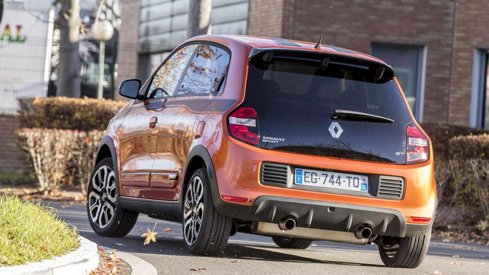 Trasera Renault Twingo GT