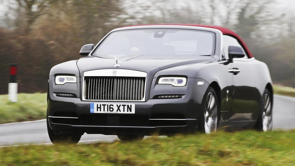 Prueba del Rolls-Royce Dawn