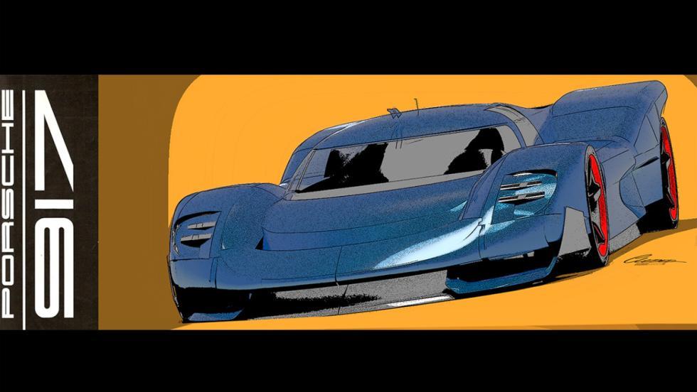 Render del Porsche 917 (V)