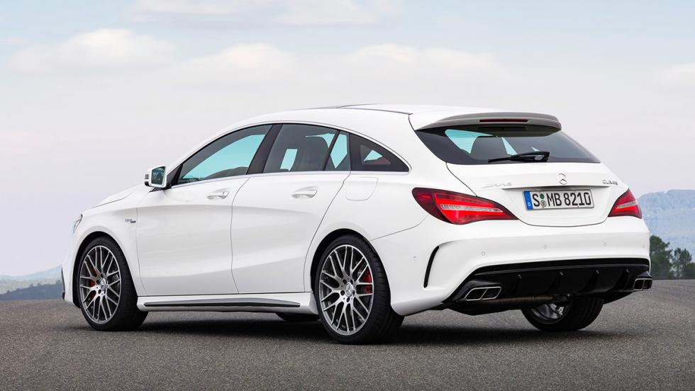 Rivales del SEAT León Cupra 2017 - Mercedes-AMG CLA 45 Shooting Brake - 380 CV