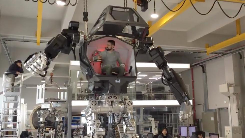 Robot Vitaly Bulgarov Method-2 corea del sur