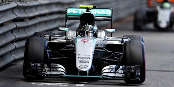 Rosberg solo fue séptimo en el resurgir de Hamilton en el GP de Mónaco 2016