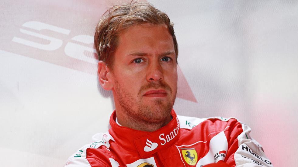 Sebastian Vettel, el gran quejica de 2016