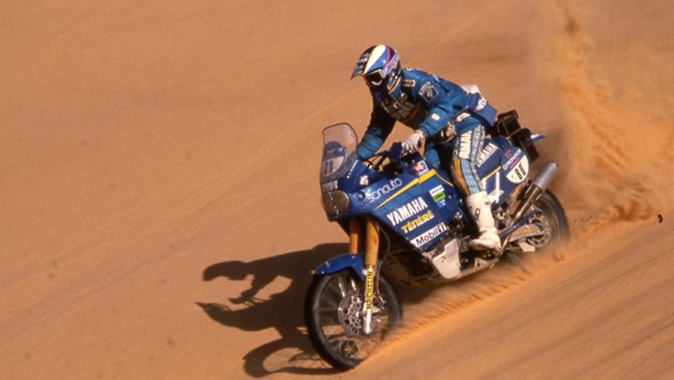 Stéphane Peterhansel ganó el primero de sus 12 Dakar en 1991