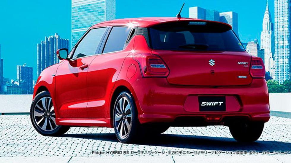 Suzuki Swift 2017 nuevo utilitario japones ciudad