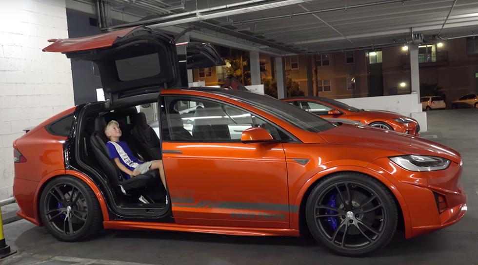 El Tesla Model X más espectacular que has visto nunca