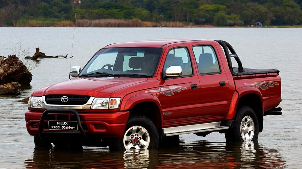 Toyota Hilux robustos clásico antiguo todo terreno pick up