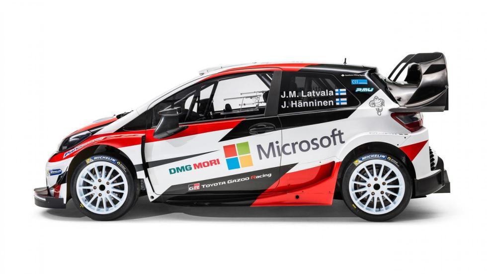 Toyota Yaris WRC coche de rally kit aerodiamica mundial rallyes