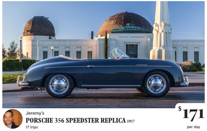 Turo: alquiler Porsche