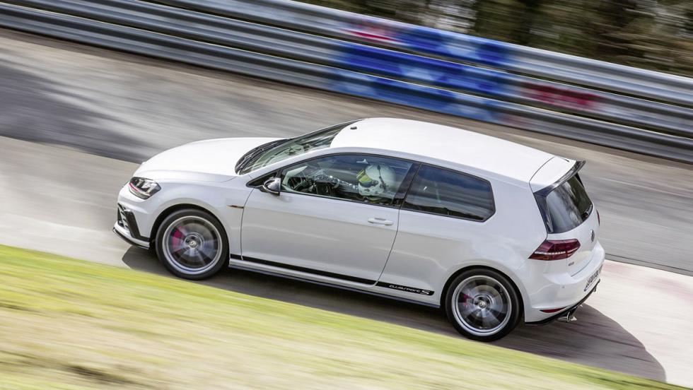 El Volkswagen Golf GTI Clubsport S bate su propio récord en Nürburgring