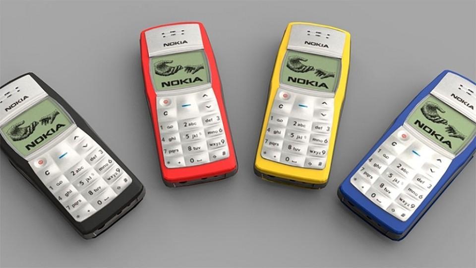 Nokia 1100 | Fecha de lanzamiento: 2003 | Millones de unidades vendidas: +250